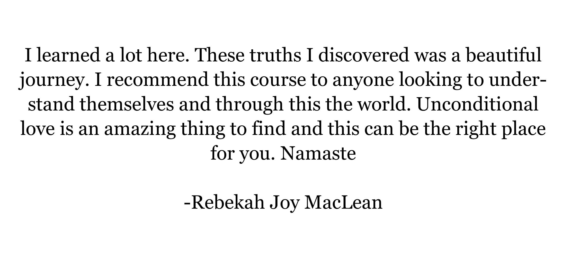 Rebekah MacLean